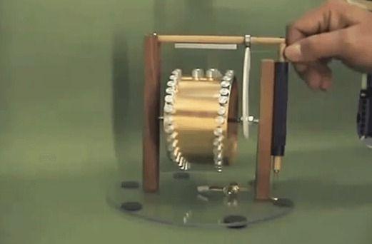 Working Magnetic Motor