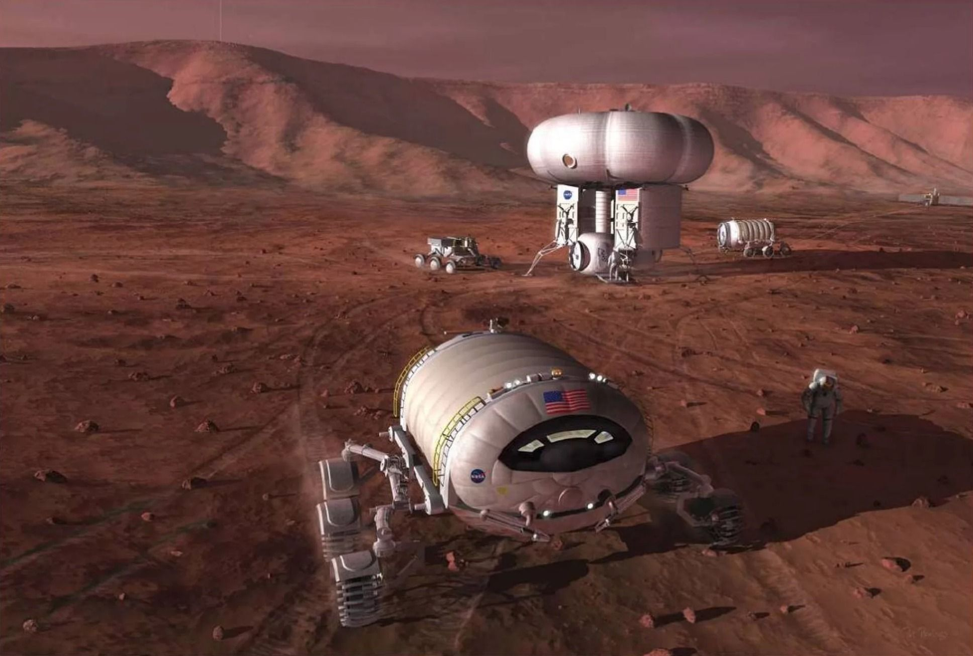 martian helicopters human colonies and drilling for - HD1389×949