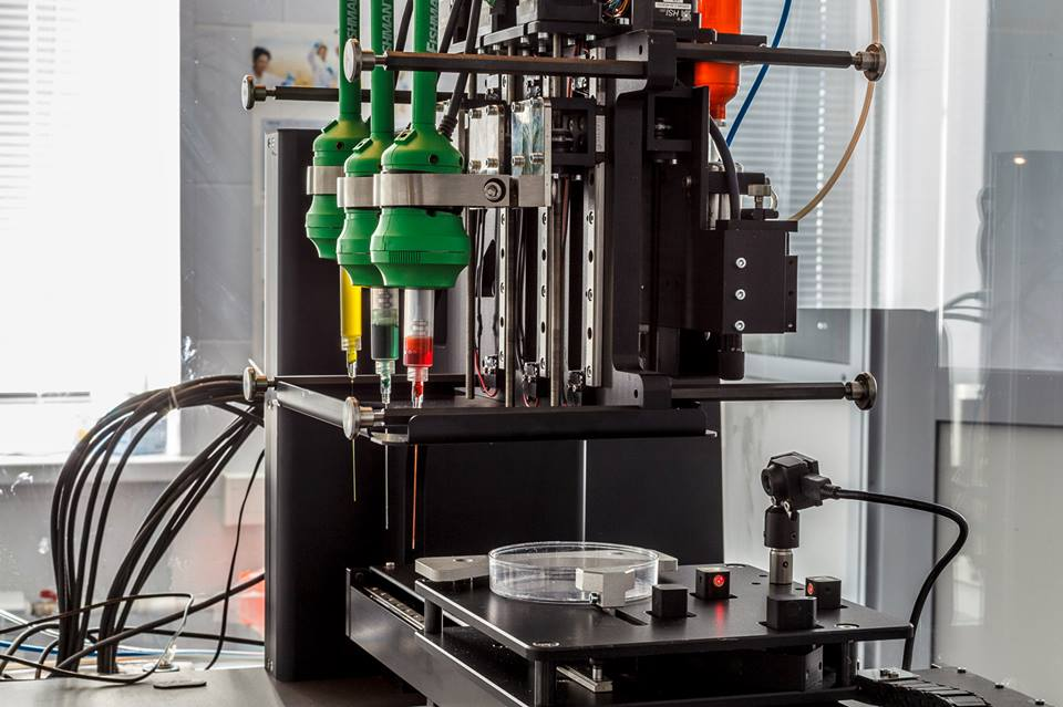 3d bioprinter russia