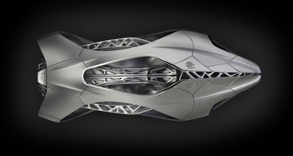 EDAG-Genesis-3D-Printed-Car-Top-View