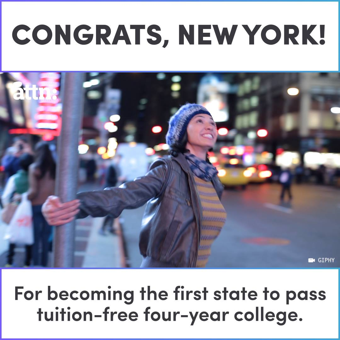 Congrats New York For Becoming The First State To Offer