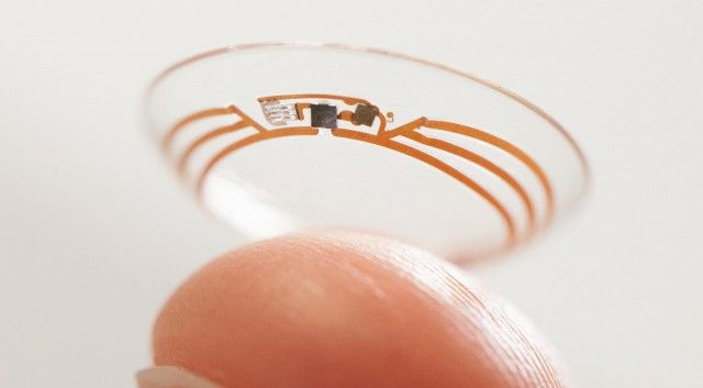 Google's smart contact lens, for detecting glucose levels (diabetes)