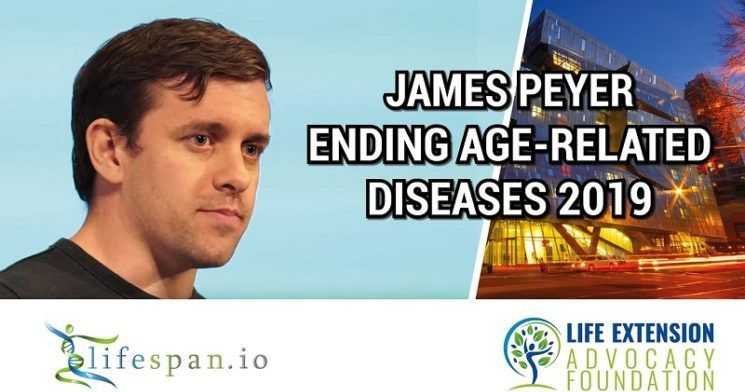 James Peyer at Ending Age-Related Diseases 2019