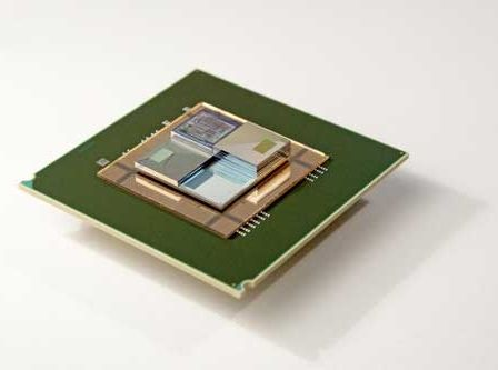Three-dimensional chip stack