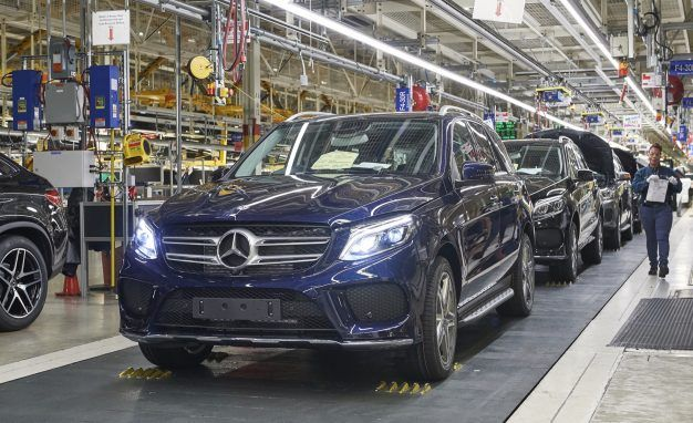 Mercedes will build electric suvs at its alabama assembly for Mercedes benz plant locations