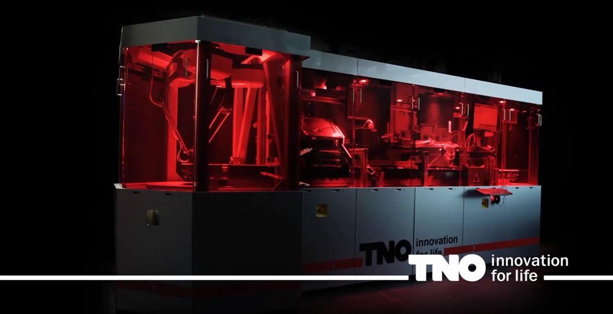 TNO Hyproline PrintValley metal 3D printer
