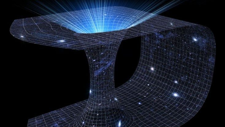 inside the black hole in space - photo #37