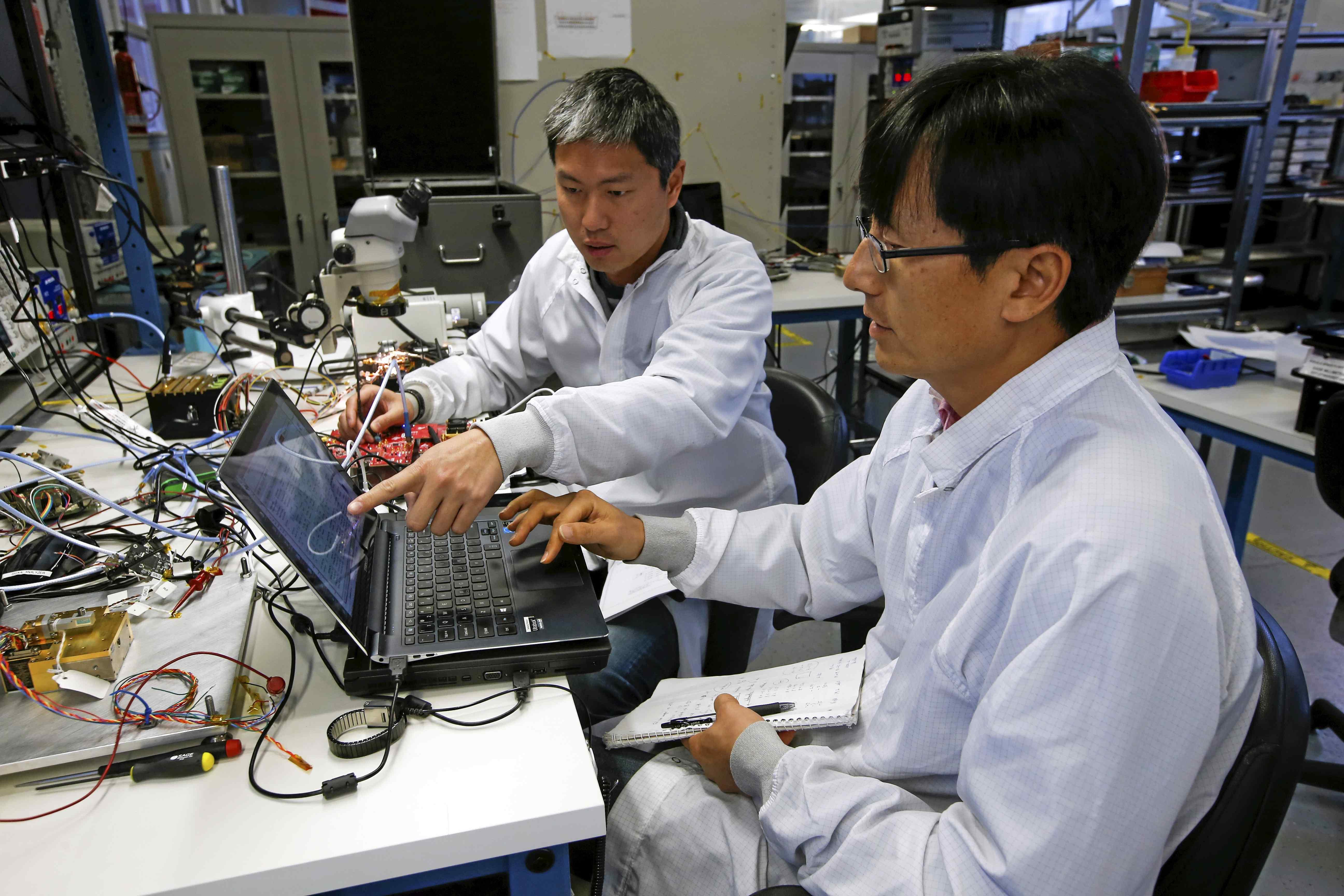 Silicon Valley's zero-gravity space startup boom