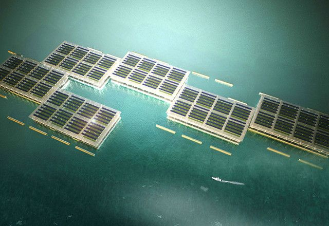 Solar-Powered Floating Farms 2