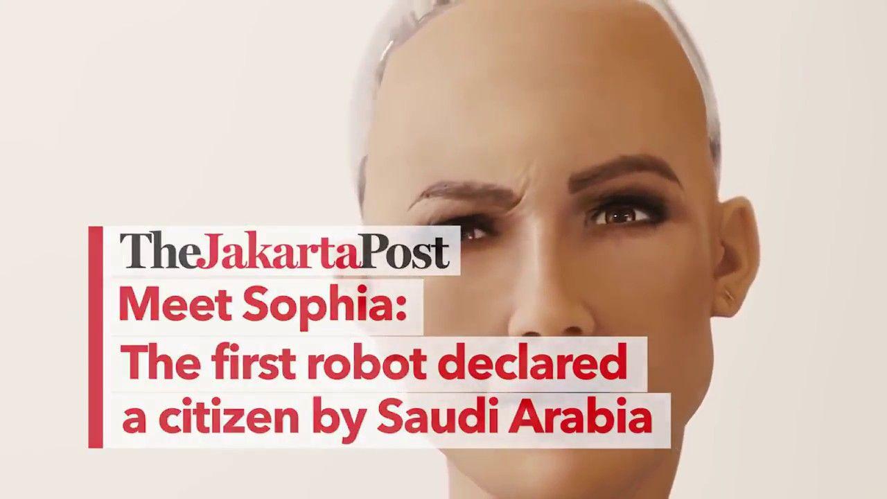 Sophia Ai Robot Actually Given Citizenship In Saudi Arabia