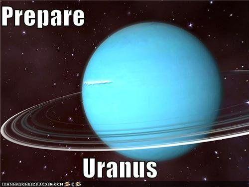 Prepare Uranus - A view of Uranus