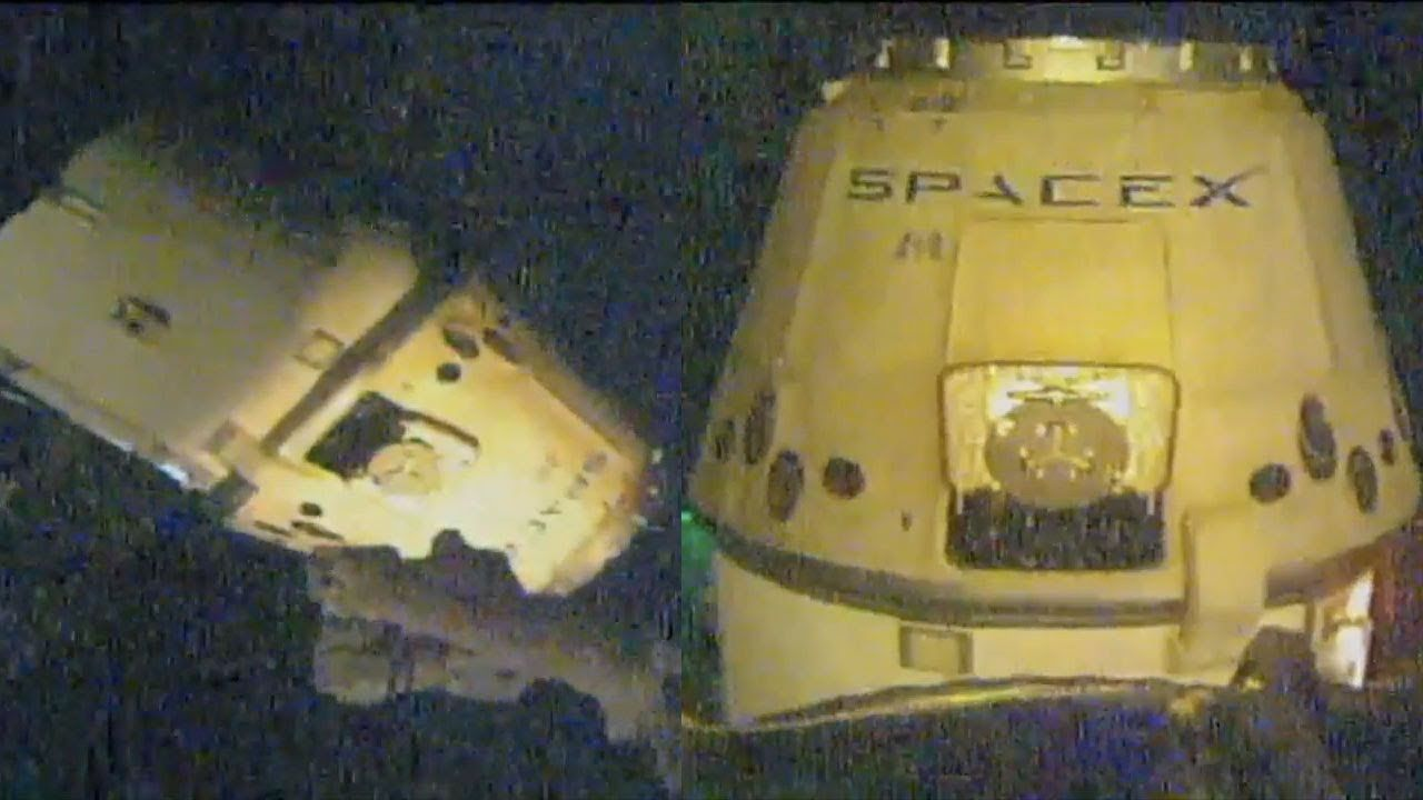 SpaceX Dragon Capsule Returns To Earth With 2 Tons Of ...