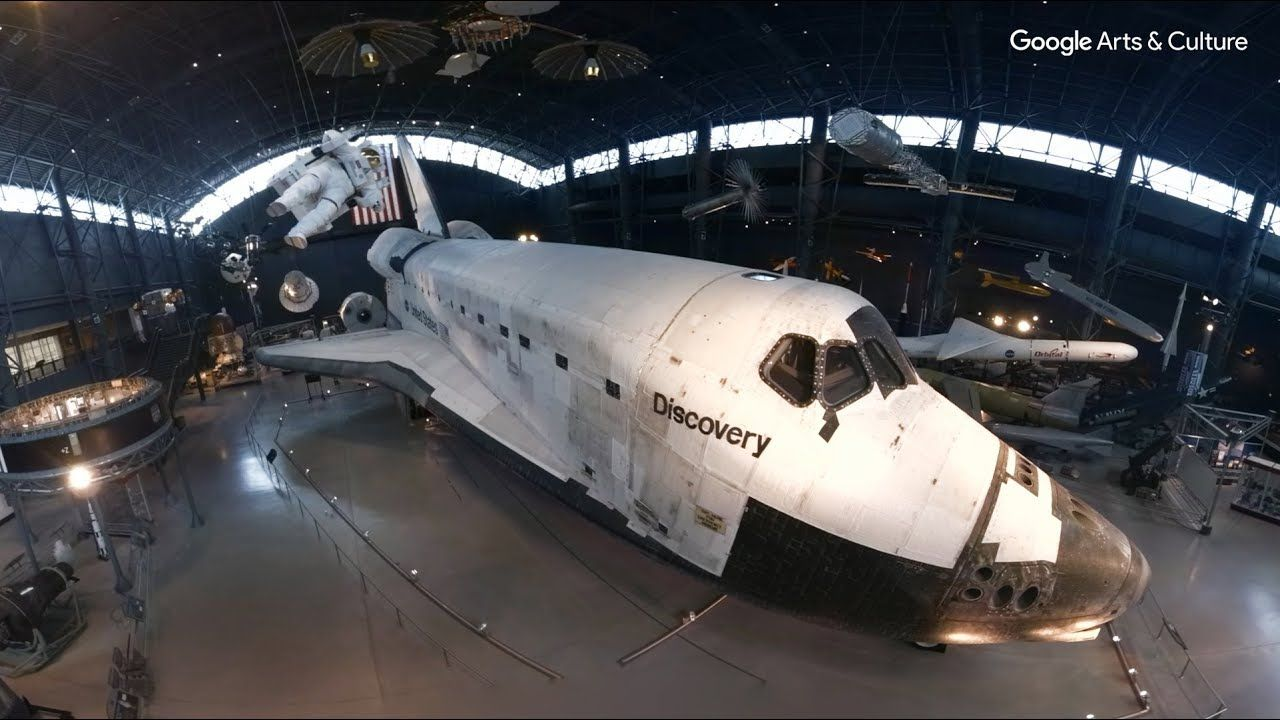 where did the space shuttle discovery go - photo #21