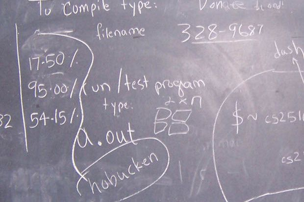 computer science blackboard