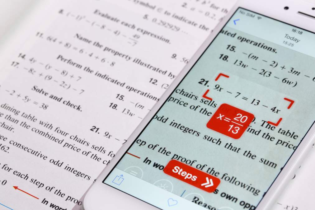 This App Can Scan and Solve Math Equations Instantly
