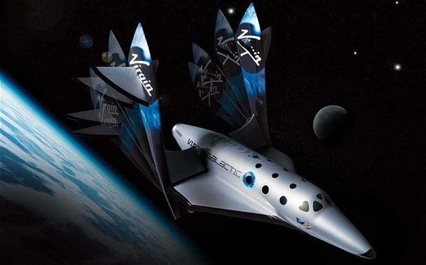 Virgin Galactic handout artist's impression of the Virgin SpaceShipTwo