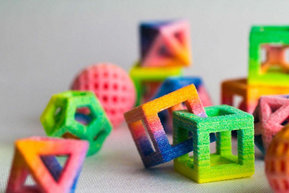 3D Printed color flavored sugar