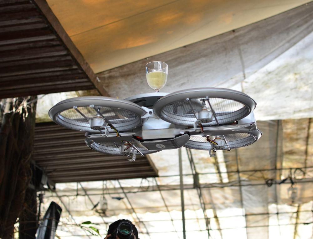 Drone Waiters-Boss Magazine