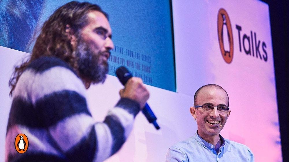 Yuval Noah Harari & Russell Brand In Conversation On The