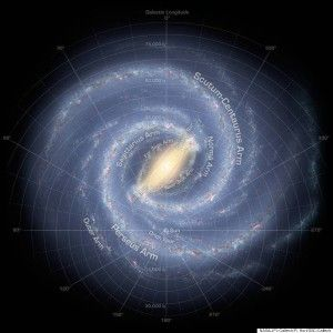 Like early explorers mapping the continents of our globe, astronomers are busy charting the spiral structure of our galaxy, the Milky Way. Using infrared images from NASA's Spitzer Space Telescope, scientists have discovered that the Milky Way's elegant sp