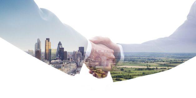 Eco handshake.