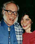 Dr. Joanne and Isaac Asimov