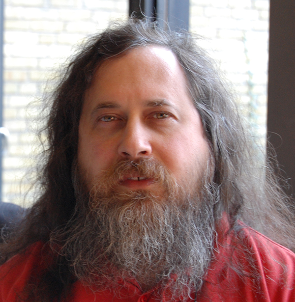"Richard ""rms"" M. Stallman"