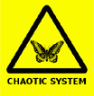 Chaotic system warning