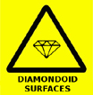 Diamondoid Surfaces Warning